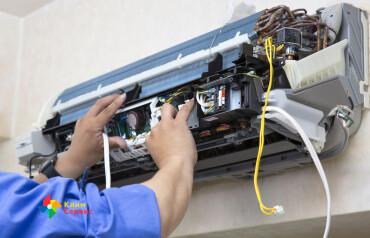Как извлечь радиатор из сплит-системы